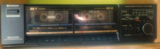 HITACHI cassette deck D - W220
