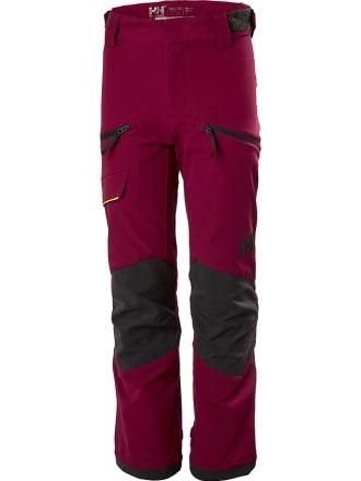 Spodnie helly hansen trekkingowe damskie xs bordowe