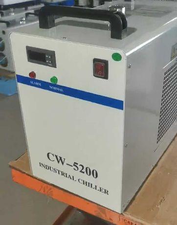 Чиллер охладитель CW-5200 лазерный станок СО2 гравёр
