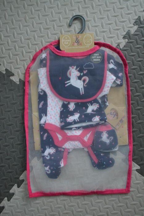 Zestaw prezentowy noworodek ubranka pajac body dziewczynka tk.max Rzeszów - image 1