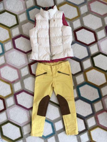 Ralph Lauren жилет жилетка безрукавка пух джинси (Chicco  Zara Mayoral