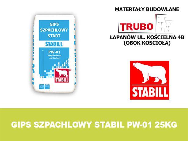 Gips szpachlowy STABIL STABILL start PW-01 25kg