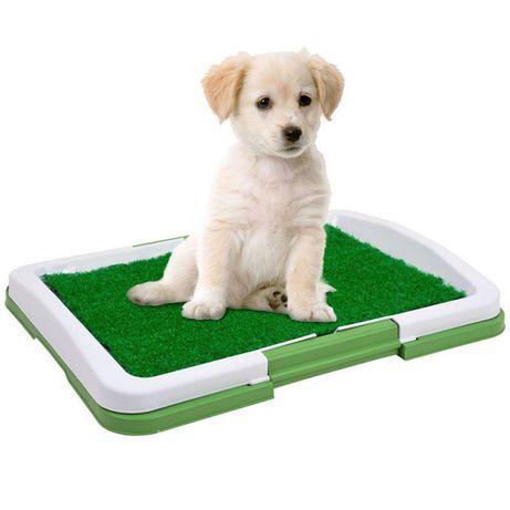 Туалет для собак лоток для щенков горшок трава