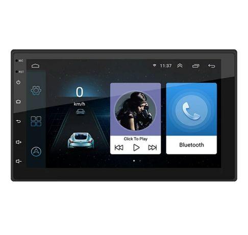 Rádio 2 Din android 10+RDS+GPS+kit mãos livres/câmera