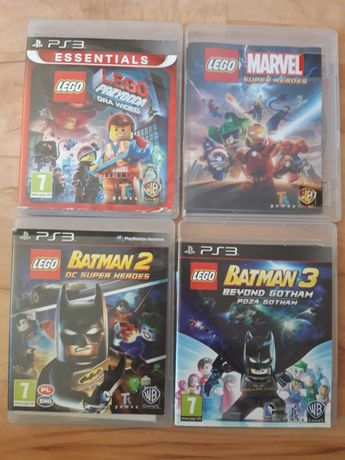 LEGO Przygoda Marvel Super Heroes Batman 3 DC Beyond Gotham na Ps 3