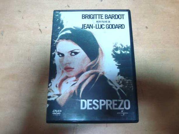 dvd original desprezo brigitte bardot  raro
