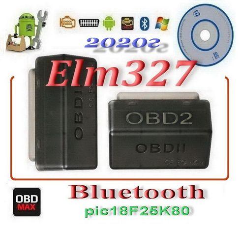 ELM327 V1.5 Mini Bluetooth на чипе PIC18F25K80 OBD2 ОБД2 Авто сканер