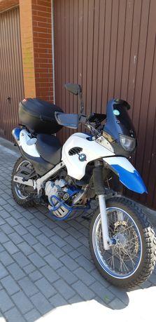 Bmw f650 gs z abs z 2003 roku od motocyklisty