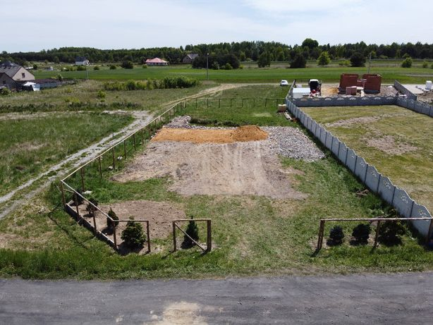 Działka budowlana 842 mkw - Puszczew - Rezerwacja