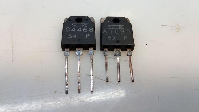 Біполярні транзистори SanKen.