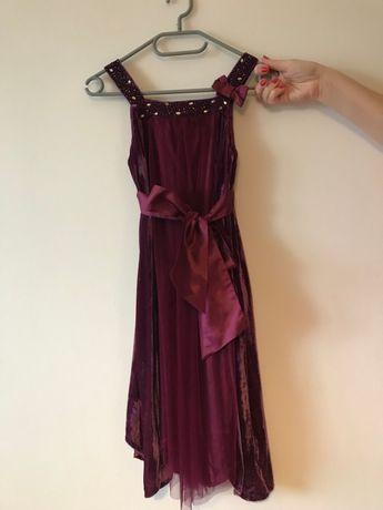 Sukienka dla dziewczynki r.146