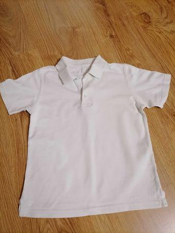Bawełniana koszula chłopieca Polo George rozmiar 110-116