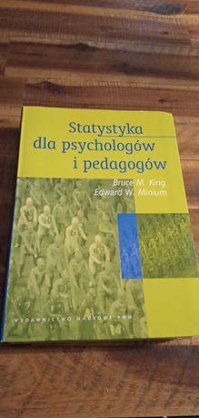 """Książka """"Statystyka dla psychologów i pedagogów"""", B.M.King, E.M.Minium"""