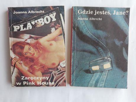 Joanna Albrecht: kryminały