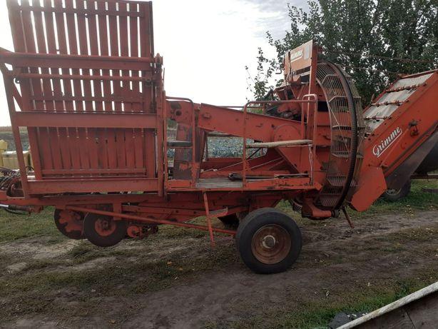 Продам  картофелеуборочный комбайн  Grimme