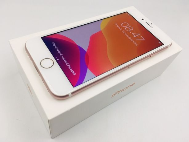 iPhone 7 128GB ROSE GOLD • NOWA bateria • GW 1 MSC • AppleCentrum