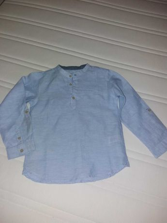 Camisa menino 5-6 anos
