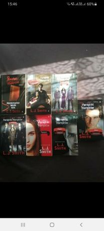 Pamiętniki wampirów księgi 1 -7