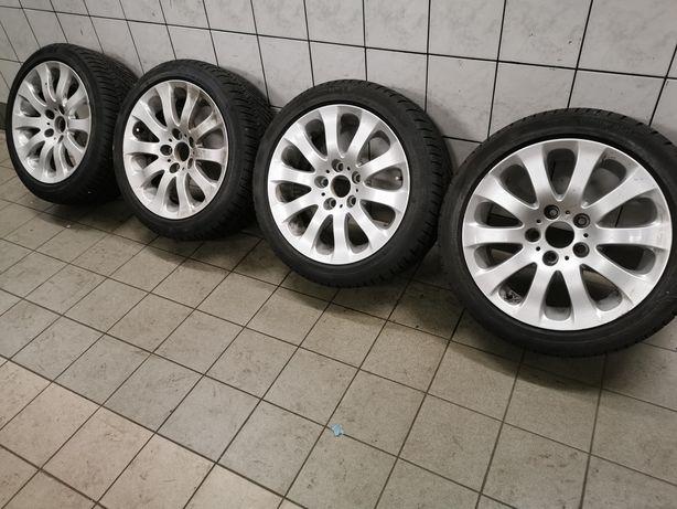 """4x koła 17"""" BMW E90 styling 159 5x120 ET34 opona zimowaConti 225/45R17"""