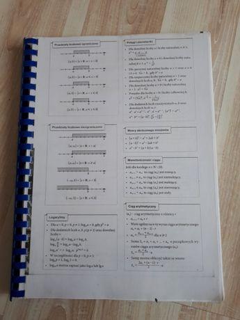 Vademecum maturalne nowe matura podstawowa matematyka