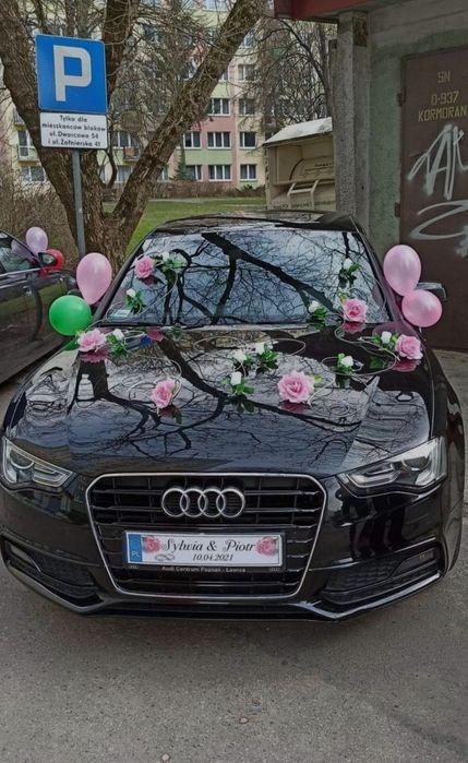 Ozdoby ślubne na samochód i ścianę Olsztyn - image 1