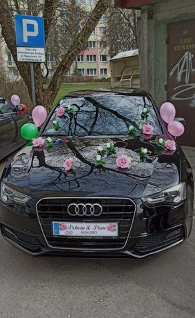 Ozdoby ślubne na samochód i ścianę