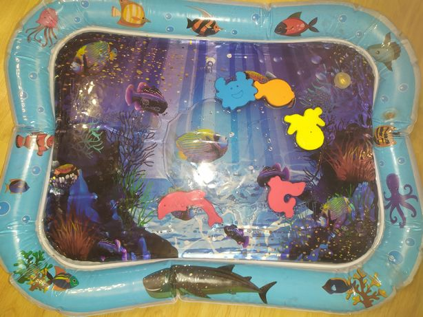 Водный матрас с рыбками