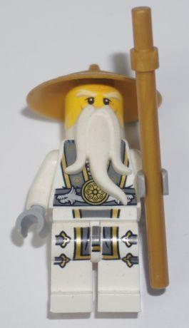 Lego Ninjago - Sensei Wu - minifigurka / ludzik unikat