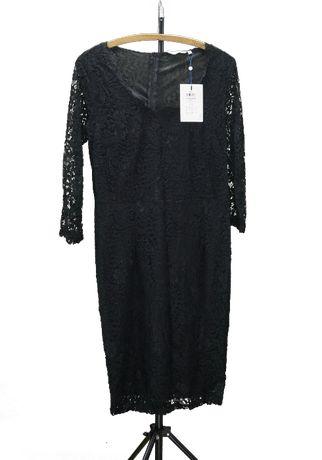 Sukienka koronkowa czarna rozm. 40-44