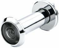 Дверной глазок 44-75мм D16, цвет- серебро/хром/никель