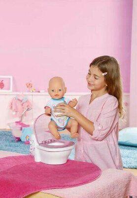 Интерактивный унитаз для куклы Baby born Zapf Creation.