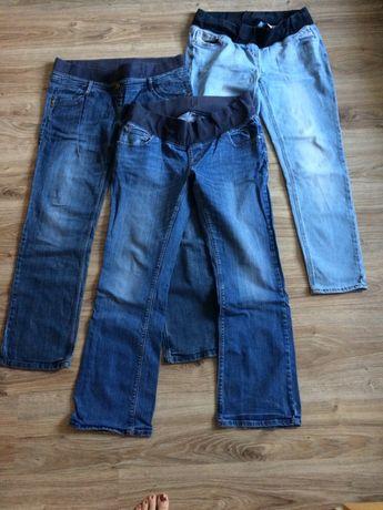 Jeansy ciążowe rozmiar 14