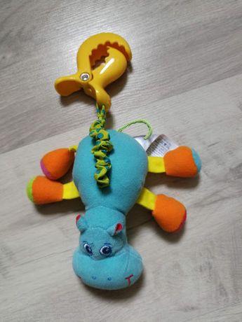 Развивающая игрушка подвеска Бегемотик Гарри Tiny Love (Тини лав)