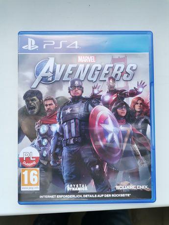 Sprzedam gre avengers ps4