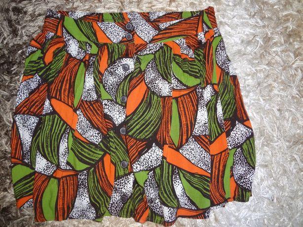 Spódnica na lato śliczne kolory r.44-46