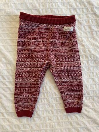 Newbie spodnie swiateczne 68