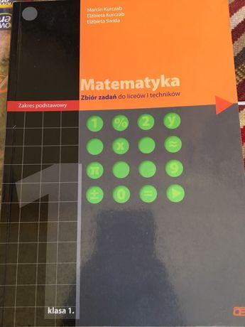 Podręcznik i zbiór zadań Matematyka zakres podstawowy klasa 1