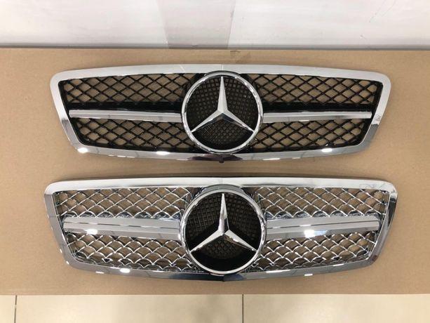 Решетка радиатора Mercedes W203 W210 W211 W220 W221 W219 W208 W209 CLK