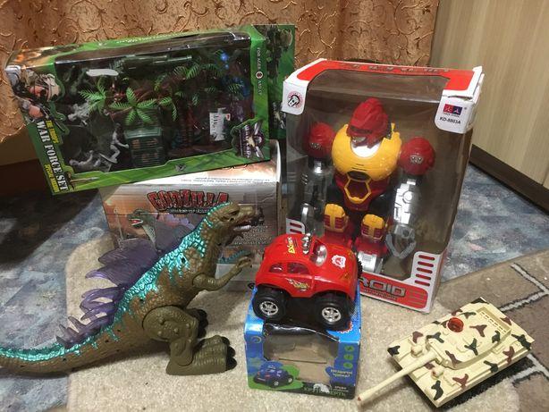 Набор игрушек для мальчика