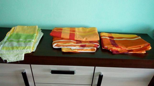 Pościel używana komplety ręczniki firanki