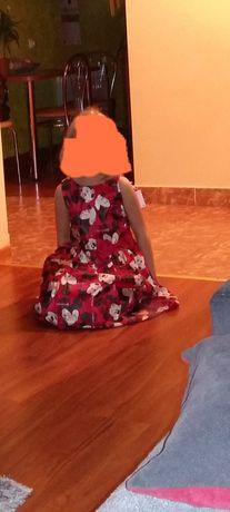 Sukienka w myszki Minnie H&M rozm.134