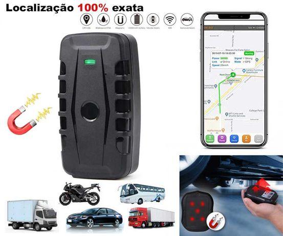 Localizador GPS IMAN (Bateria 60 Dias) Carros/Motas/Frotas/Táxis (NOVO