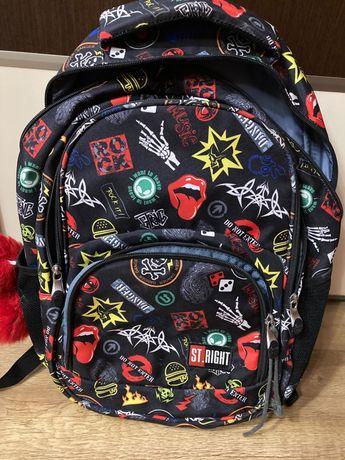 Plecak szkolny ze wzmocnionymi plecami