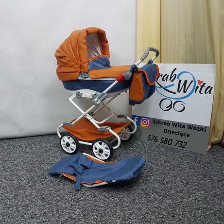 Wózek dla lalek 2w1 różne kolory gwarancja wysyłka FB szkrabwita.pl