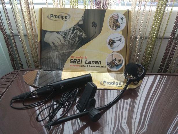 Продам радіомікрофон ProdipeSB21Lanen Microphone Sax&Brass&Percussion