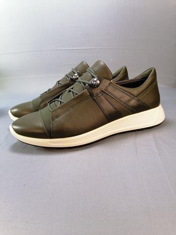 женские кожаные кроссовки ботинки Ecco flexure RUNNER, р.38, 39,40,41