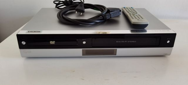 Combo odtwarzacz DVD Nagrywarka VHS LG V192H Pilot