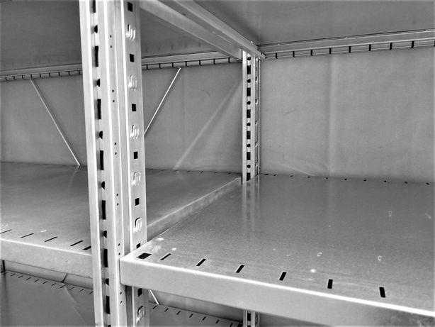 REGAŁ 60x230x303/18p OCYNKOWANY Metalowy Garażowy Półkowy Magazyn