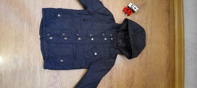 Цена  снижена!!! Осенняя  курточка на синтепоне фирма F&F