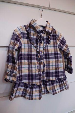 Bluzka dziewczęca / koszula rozm. 80